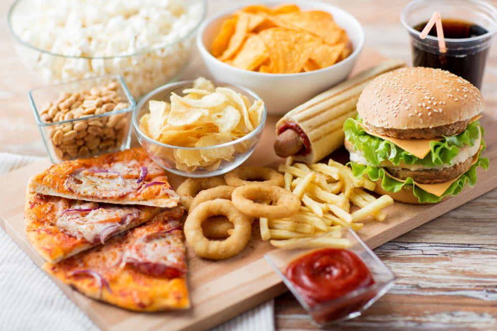 fast food platter