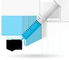 Needle use revise